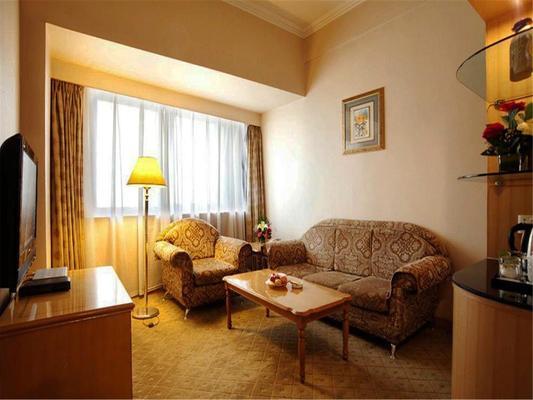 Lanzhou Jinjiang Sun Hotel - Lanzhou - Living room