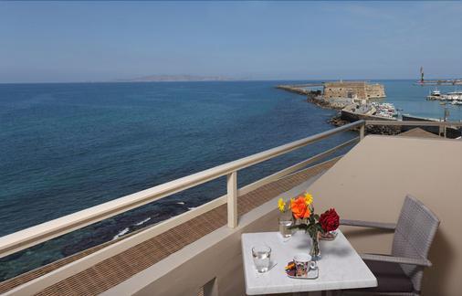 Kronos Hotel - Heraklion - Balcony
