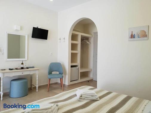 Alkyon Hotel - Kamari - Bedroom