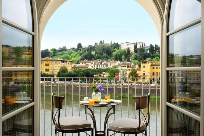 Hotel Balestri - Florencia - Balcón