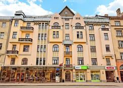 Rigaapartmentcom Gertruda Apartments & Restaurant - Riga - Bâtiment