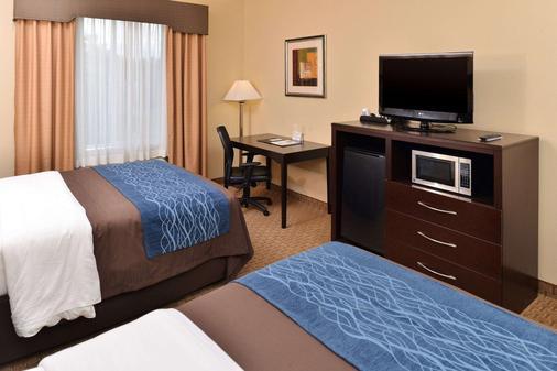 Comfort Inn & Suites - Mexia - Schlafzimmer