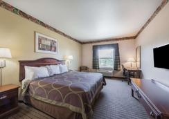 Super 8 by Wyndham Fort Worth Stockyards - Fort Worth - Bedroom