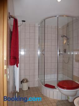 Pfälzer Landhotel Heinrich - Bad Duerkheim - Bathroom
