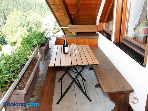 Haus Kandelblick - Furtwangen - Balcony
