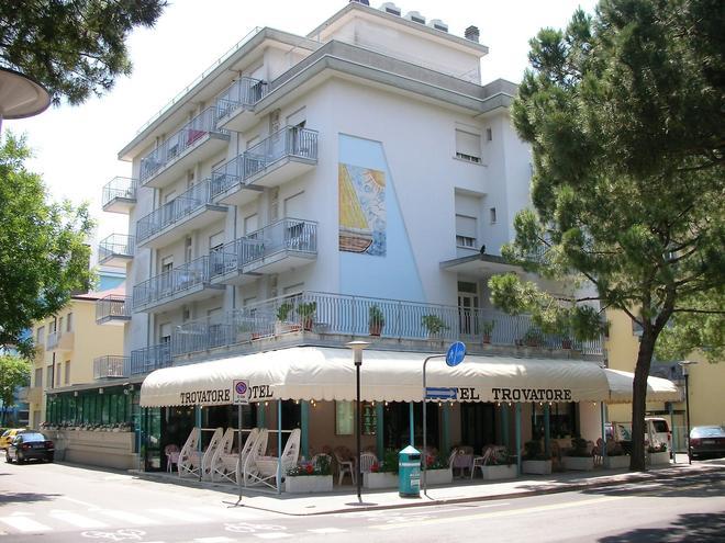 Hotel Trovatore - Τζεσόλο - Κτίριο