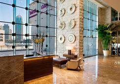杜拜碼頭杜斯特酒店 - 杜拜 - 杜拜 - 大廳