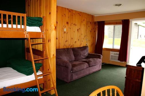 Northern Lights Lodge - Stowe - Living room