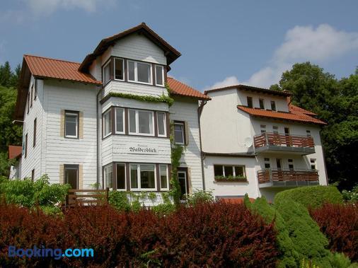 Pension Waldesblick - Friedrichroda - Building