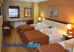 Hotel Yuksel - Istanbul - Phòng ngủ