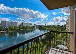 Oxford Suites Downtown Spokane - Spokane - Balcon