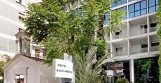 Airotel Alexandros Hotel - Aten - Byggnad