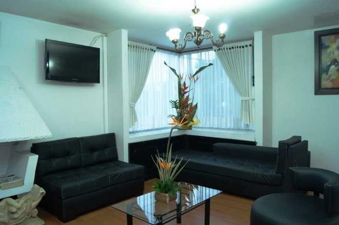 Hotel Casa Embajada - Bogotá - Living room