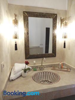 里亞德卡麗娜酒店 - 馬拉喀什 - 馬拉喀什 - 浴室