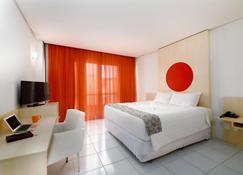 Rede Andrade Cecomtur - Florianópolis - Yatak Odası
