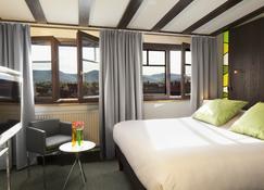 Hôtel Le Colombier - Obernai - Schlafzimmer