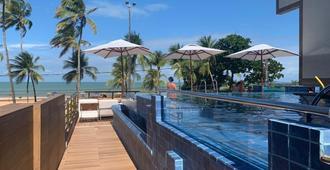 Netuanah Praia Hotel - ז'ואאו פסואה - בריכה