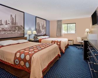 Super 8 by Wyndham Rockford - Rockford - Bedroom