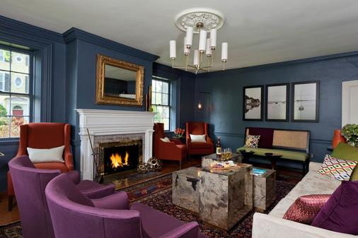 Captain Fairfield Inn - Kennebunkport - Phòng khách