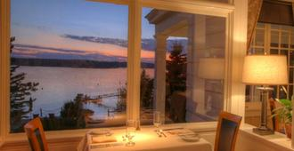 Spruce Point Inn Resort and Spa - Boothbay Harbor - Dining room