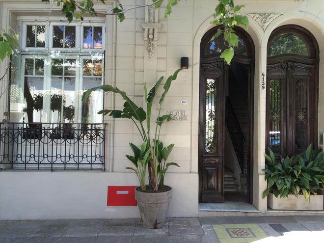 ホテル コスタ リカ - ブエノスアイレス - 屋外の景色