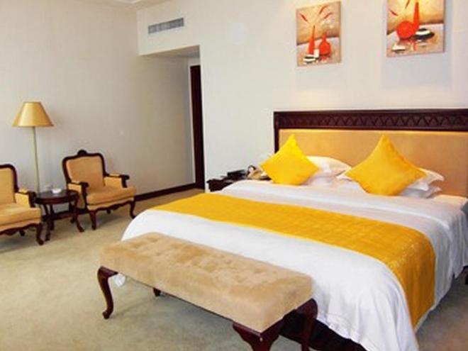Huaxin International Hotel - Ningbo - Fenghua - Bedroom