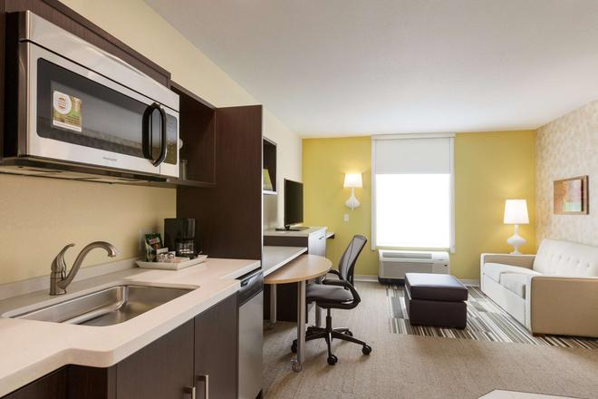 Home2 Suites By Hilton Youngstown - Youngstown - Makuuhuone