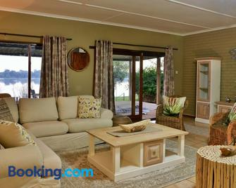 River View Lodge - Kasane - Living room