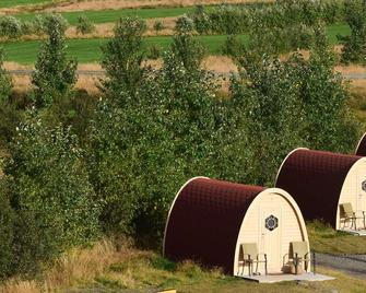 Fossatun Camping Pods & Cottages - Sleeping Bag Accommodation - Borgarnes - Building