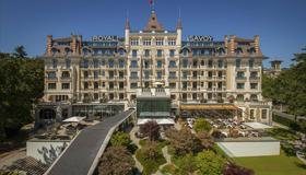 Royal Savoy Lausanne - Lausana - Edifício