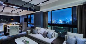 Kung Shang Design Hotel - Kaohsiung City - Living room