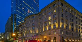 Fairmont Copley Plaza - Boston - Byggnad