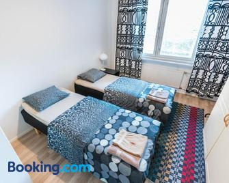 Oulu Hotelli Apartments - Oulu - Bedroom