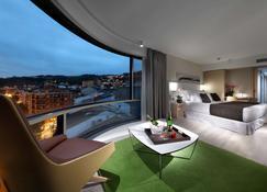 Barceló Bilbao Nervión - Бильбао - Спальня