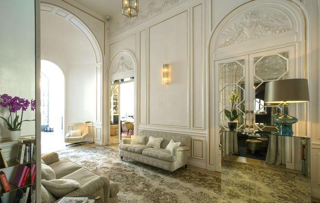 Palazzo Dama - Rome - Salon