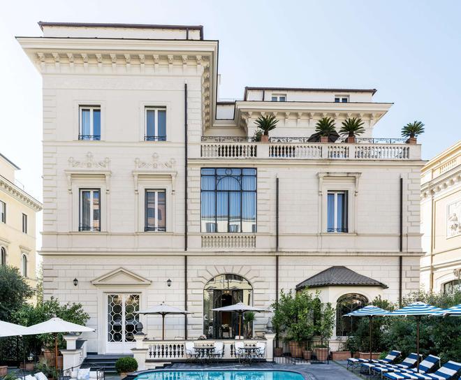 Palazzo Dama - Ρώμη - Κτίριο