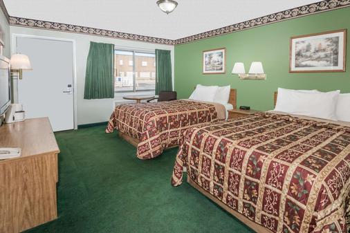 Knights Inn Ottawa - Ottawa - Schlafzimmer