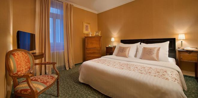 Hotel Angelis - Praga - Camera da letto
