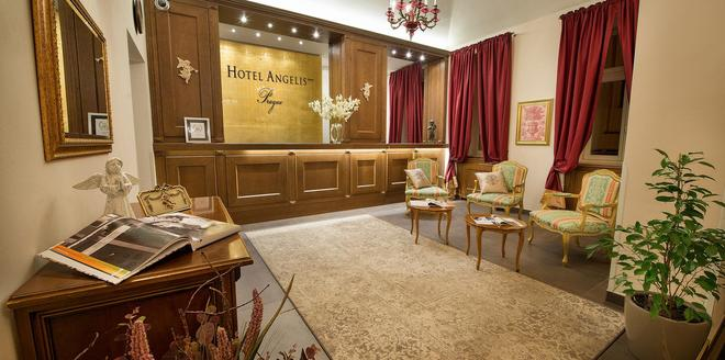 Hotel Angelis - Praga - Reception
