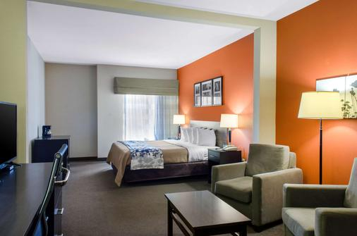 Sleep Inn & Suites East Chase - Montgomery - Schlafzimmer