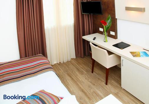 Hotel Colorado - Lugano - Phòng ngủ