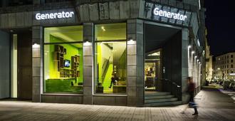 Generator Hamburg - המבורג - בניין