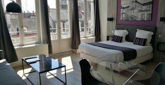 Hotel Residence City Loft - דיז'ון - חדר שינה