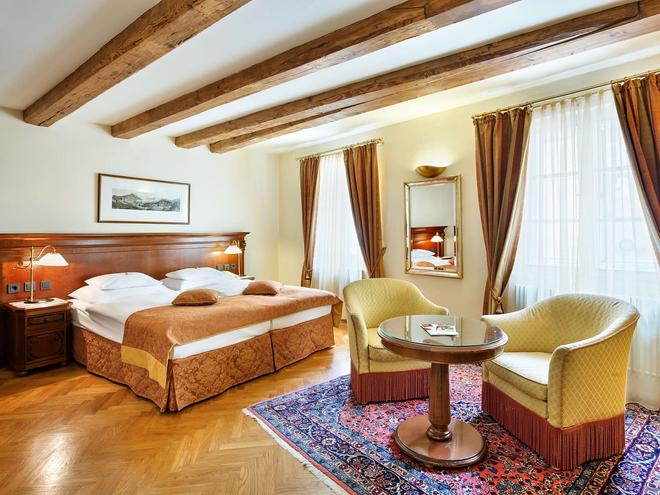 Radisson Blu Hotel Altstadt, Salzburg - Зальцбург - Спальня