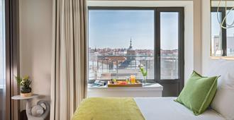 Barceló Torre De Madrid - מדריד - חדר שינה