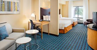 Fairfield Inn & Suites by Marriott San Antonio SeaWorld/Westover Hills - San Antonio - Vardagsrum