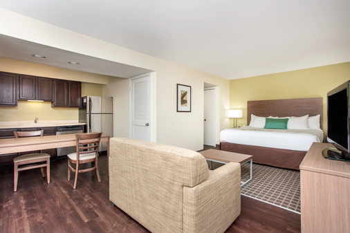 Hawthorn Suites by Wyndham Atlanta Perimeter Center - Atlanta - Bedroom