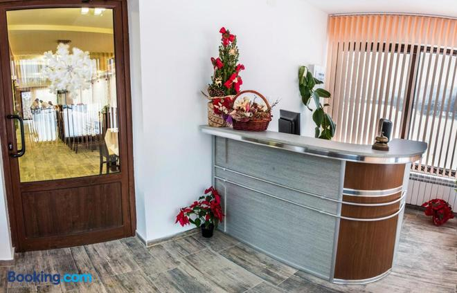 Hotel Nikol - Dolna Banya - Front desk
