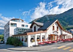 Hotel Station - Pontresina - Rakennus