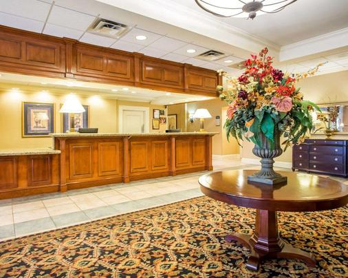Clarion Hotel & Conference Center North Atlanta - Chamblee - Rezeption